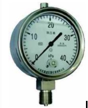 布莱迪不锈钢充油耐震膜盒微压表YEFN-100 YTFN-160