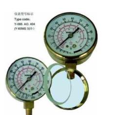 布莱迪铸铜外壳压力表Y-66