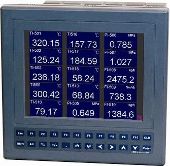 TD130-RH中长图真彩无纸记录仪