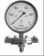 布莱迪不锈钢防腐膜片压力表YPN-100