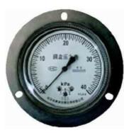 布莱迪普通膜盒微压表不锈钢膜盒微压表YEF-65 YE-90 YE-